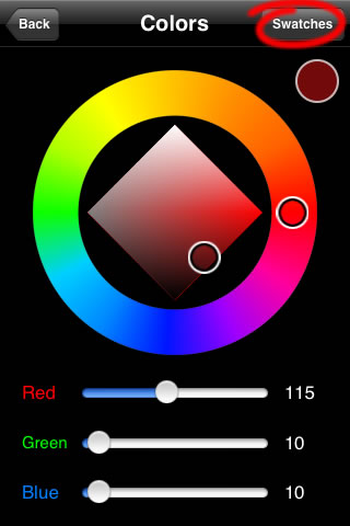 Sketchbook Mobile - Color  Wheel