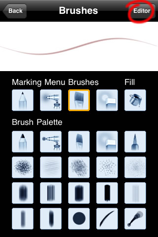 Sketchbook Mobile - Brushes